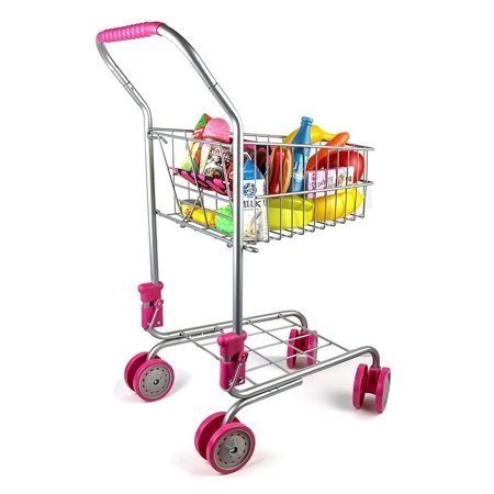 kids-grocery-cart, 5 Tips For Teaching Kids How To Grocery Shop
